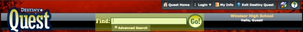 The Search Box